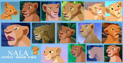 The Lion King 2:Simba's Pride wallpaper entitled Nala collage