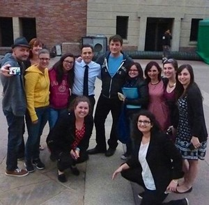 Nathan,Seamus and fans-BTS season 7