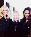 Nina, Candice and Julie  - the-vampire-diaries-tv-show photo