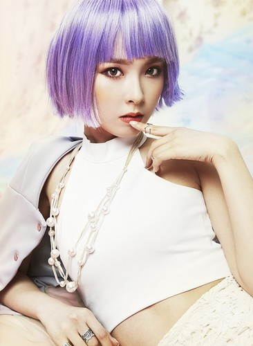 Nine Muses fondo de pantalla possibly with a portrait entitled Nine Muses Hyemi Drama solo teaser