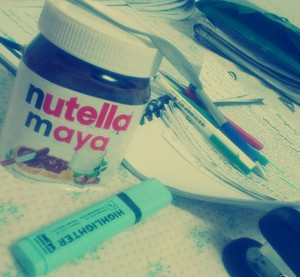 Nutella at midnight