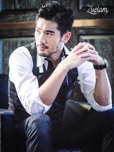 Godfrey Gao wallpaper entitled OK! Magazine