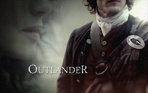 serial tv outlander 2014 wallpaper possibly containing a well dressed person called OUTLANDER SERIES