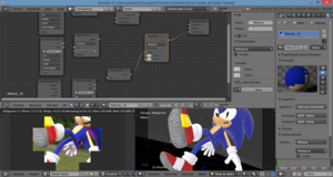 One thing of Sonic I'm rendering
