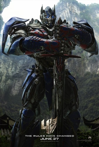 Optimus Prime wallpaper possibly with an alpinista titled Optimus Prime - Age of Extinction