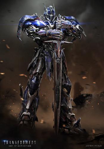 Optimus Prime wallpaper titled Optimus Prime - Age of Extinction