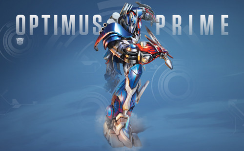 Optimus Prime wallpaper entitled Optimus Prime - Age of Extinction