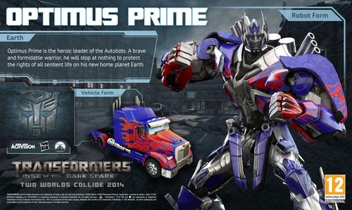 Optimus Prime wallpaper called Optimus Prime - Rise of the Dark Spark