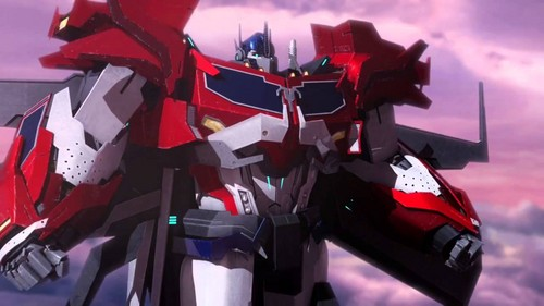 Optimus Prime wallpaper entitled Optimus Prime - Transformers Prime