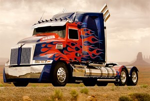 Optimus Prime - Western stella, star