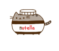 PUSHEEN NUTELLA!!!!!!!!!!!! - nutella fan art