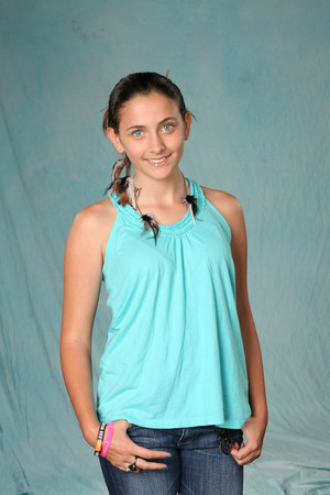 Paris Jackson Photoshoot for her 1st movie