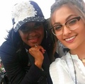 Paris with a fan - paris-jackson photo