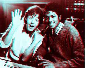 Paul McCartney and Michael Jackson 3D