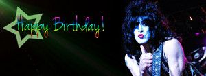 Paul Stanley FB birthday cover pics ~January 20, 1952