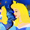 Princess Aurora foto possibly containing a parasol and anime titled Princess Aurora iconen
