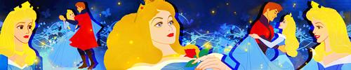 Princess Aurora achtergrond called Princess Aurora iconen set