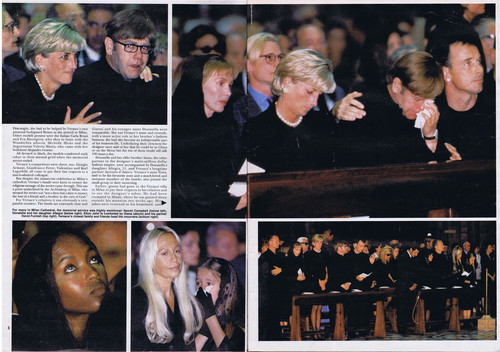 Prinzessin Diana Hintergrund entitled Princess Diana was pictured attending the funeral in Milan of fashion designer Gianni Versace