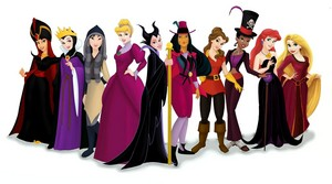 Princesses as the villains