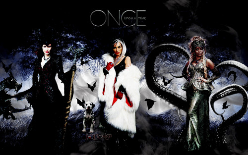 Once Upon A Time wallpaper titled Queens of Darkenss