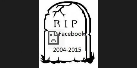 Facebook wallpaper called RIP FACEBOOK
