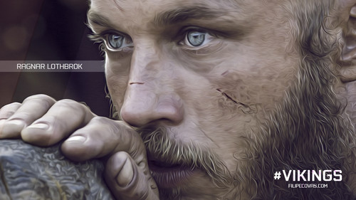 vikings (serial tv) wallpaper entitled Ragnar wallpaper