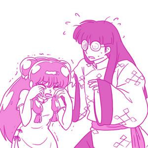Ranma 1/2 мусс and Shampoo_ ムシャ (らんま½_シャンプーとムース ) (란마 ½_샴�