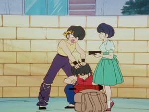 Ranma 1/2 Ranma, Akane, and Ryoga