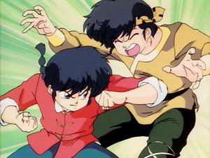 Ranma vs Ryoga
