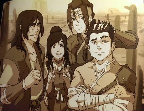Avatar: The Legend of Korra wallpaper containing anime titled Red Lotus