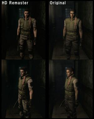 Resident Evil Remastered Comparison