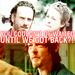 Rick, Carol and Daryl