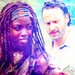 Rick and Michonne - rick-grimes icon