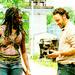 Rick and Michonne