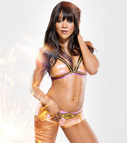 WWE Divas wallpaper probably with a bikini and a swimsuit entitled Royal Rumble Ready - Alicia Fox