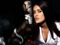 SALMA HAYEK AND FAKE FANS SQUALL LEONHART