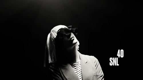 Sia wallpaper possibly containing a konser titled SNL promotional foto