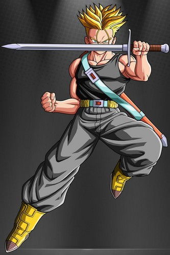 dragon ball z wallpaper entitled SSJ Trunks