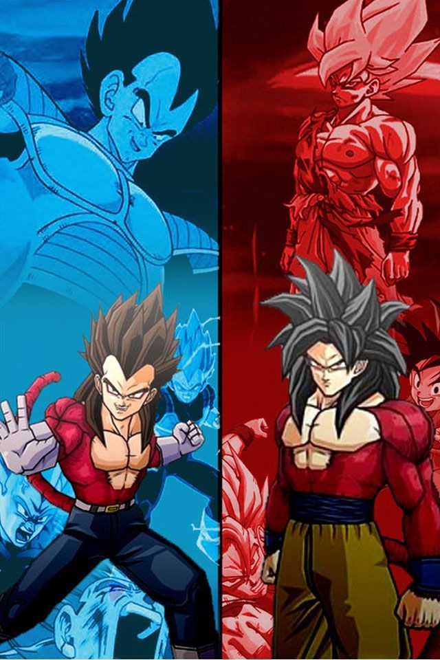 Dragon Ball Z Images SSJ4 Goku And Vegeta HD Wallpaper Background Photos