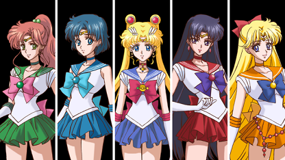 Sailor moon crystal senshi
