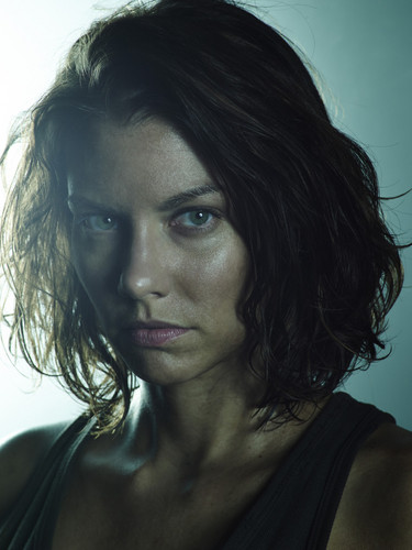 The Walking Dead kertas dinding with a portrait entitled Season 5B Promo ~ Maggie Greene