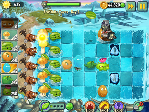 một giây Screenshot for 'Plants vs. Zombies 2'