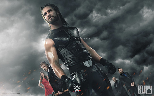 WWE kertas dinding probably containing a hip boot entitled Seth Rollins - The Future