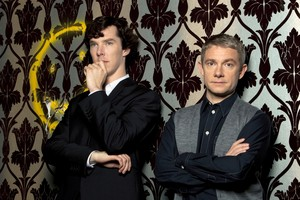 Sherlock and John!