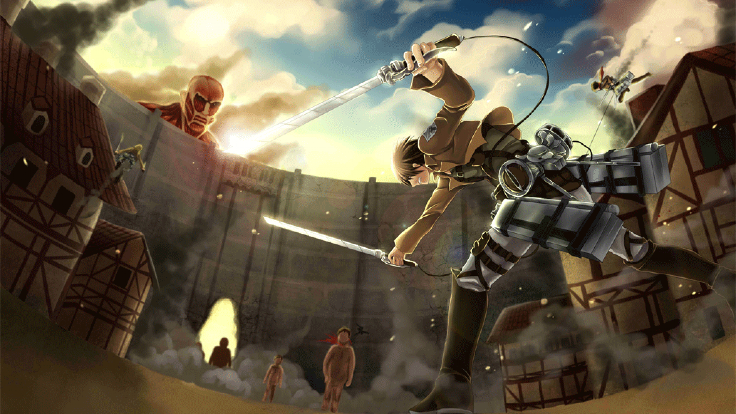 Shingeki No Kyojin Attack On Titan Images HD Wallpaper And Background Photos