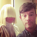 Sia and her manager, David Russell