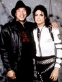 Smokey Robinson and Michael Jackson - michael-jackson photo