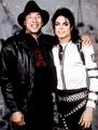 Smokey Robinson and Michael Jackson - michael-jackson photo