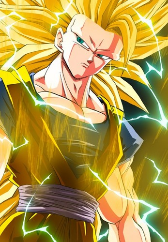 Dragon Ball Z fond d'écran called Son Goku SSJ3