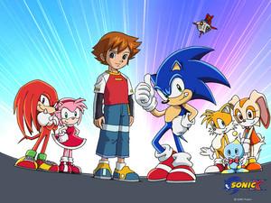 Sonic X crew